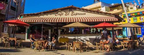 Café El Espresso in Sayulita Mexico