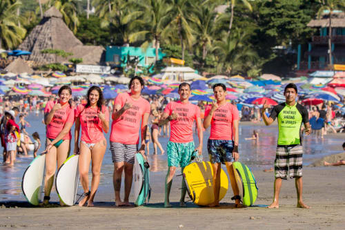 Costeño Surf School in Sayulita Mexico
