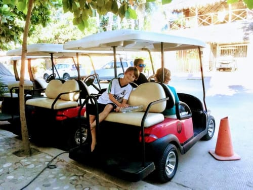 Roy's Rois Golf Cart Rentals in Sayulita Mexico