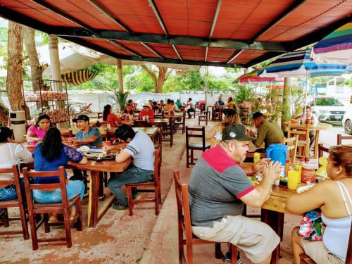 Lalos Mariscos Grill in Sayulita Mexico