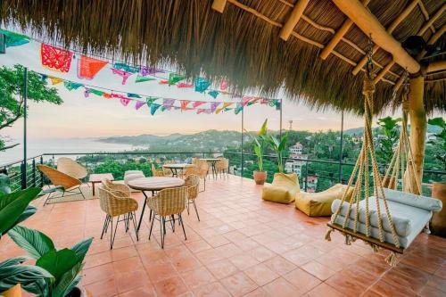 Casa Paraíso Restaurant And Bar in Sayulita Mexico