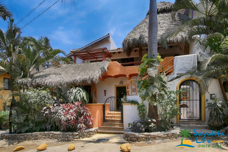 Casa Dos Amigos Vacation Rental in Sayulita Mexico