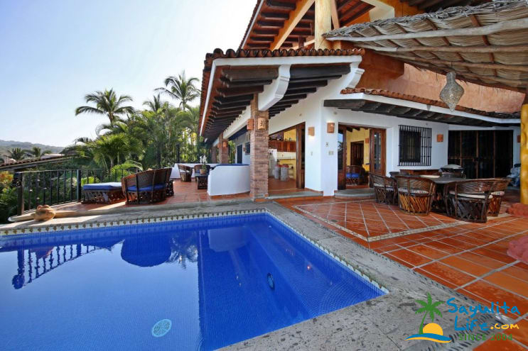 Casa Mariposa Vacation Rental in Sayulita Mexico