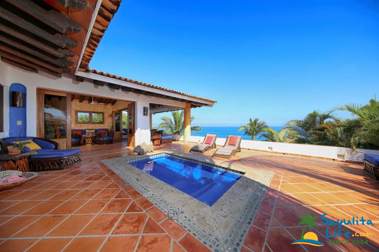 Casa Alta Vista Vacation Rental in Sayulita Mexico