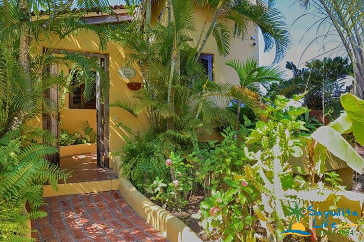 Casa Jardin Vacation Rental in Sayulita Mexico