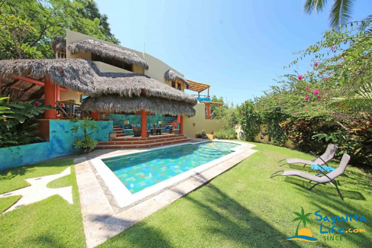 Casa Agua Azul Vacation Rental in Sayulita Mexico