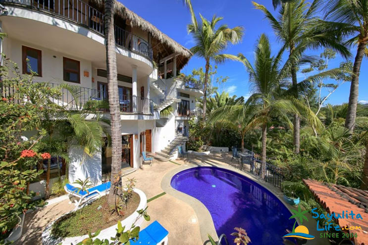 Jardin De Las Palmas Vacation Rental in Sayulita Mexico