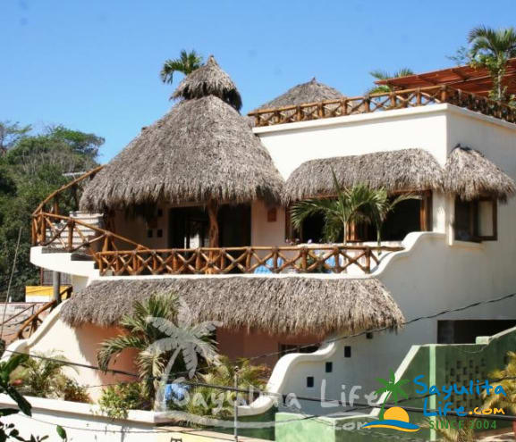 Casa De Las Palmas Vacation Rental in Sayulita Mexico