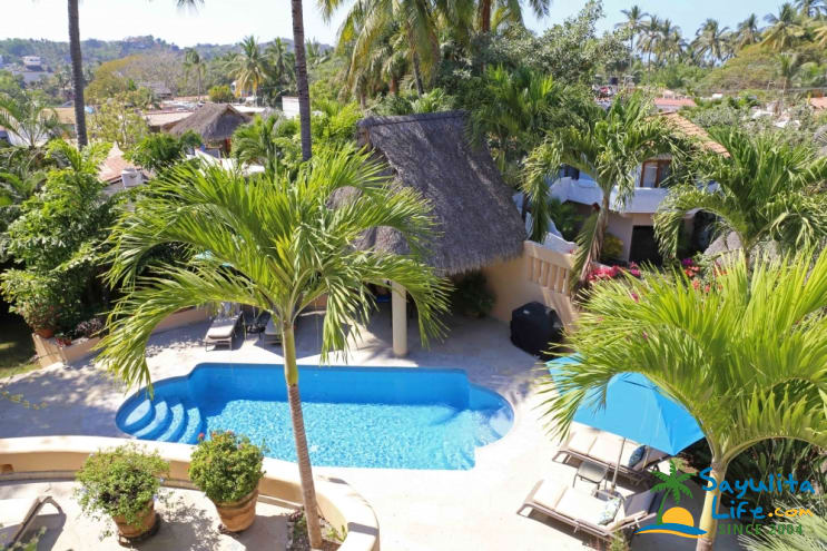 Casa Azul Vacation Rental in Sayulita Mexico
