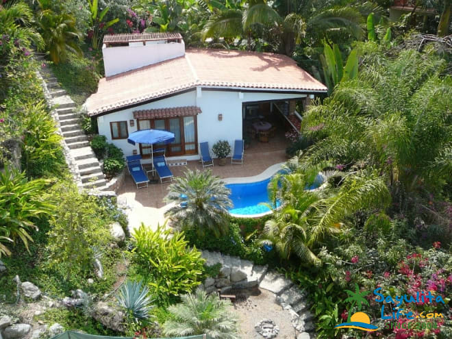 Casa Escondida Vacation Rental in Sayulita Mexico