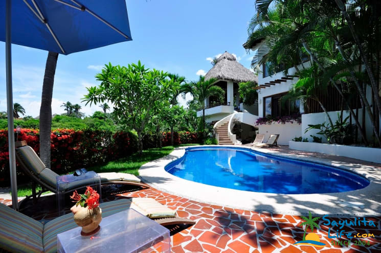 Casa Flores Vacation Rental in Sayulita Mexico