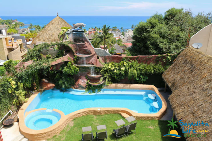 Las Cascadas 3rd Floor Waterfalls Vacation Rental in Sayulita Mexico