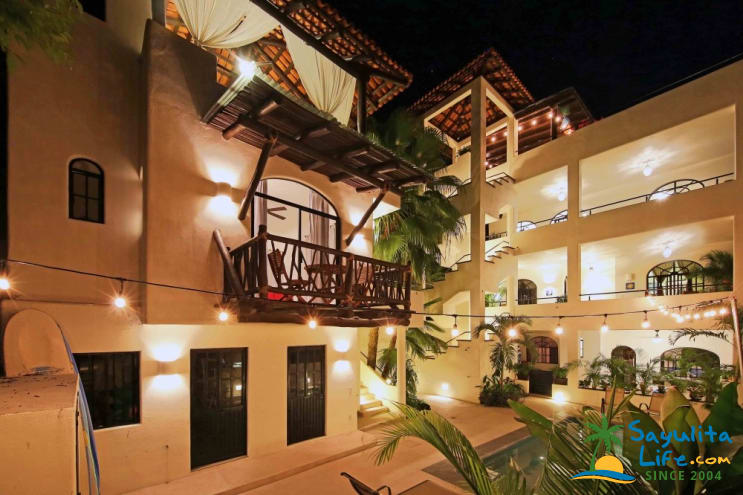 Casita Estrella (split Level) At Casa Vecino Guesthouse Vacation Rental in Sayulita Mexico