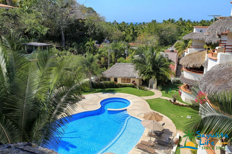 Villa Cielito Lindo At Los Almendros Vacation Rental in Sayulita Mexico