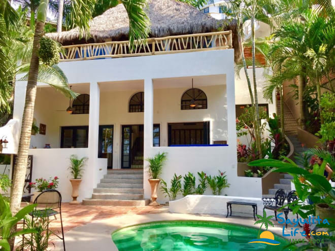 Casa Sonrisa Poolside Vacation Rental in Sayulita Mexico