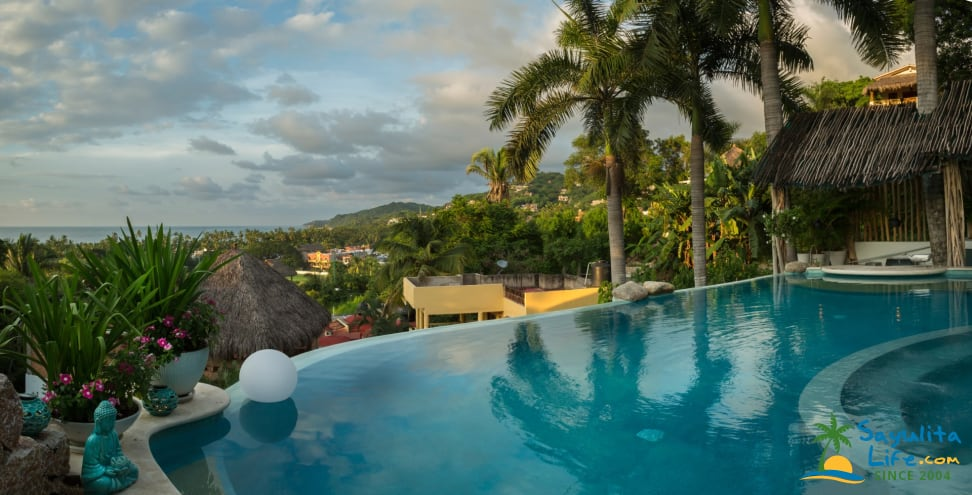 Orchid View At Anjali Casa Divina Vacation Rental in Sayulita Mexico