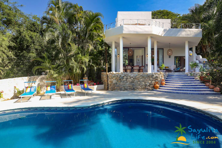 Casa Catrina Estate Vacation Rental in Sayulita Mexico