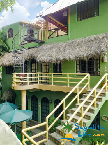 Jungle Penthouse At Casitas Tortugas Vacation Rental in Sayulita Mexico