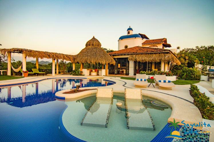 Las Hadas Del Mar Estate Vacation Rental in Sayulita Mexico