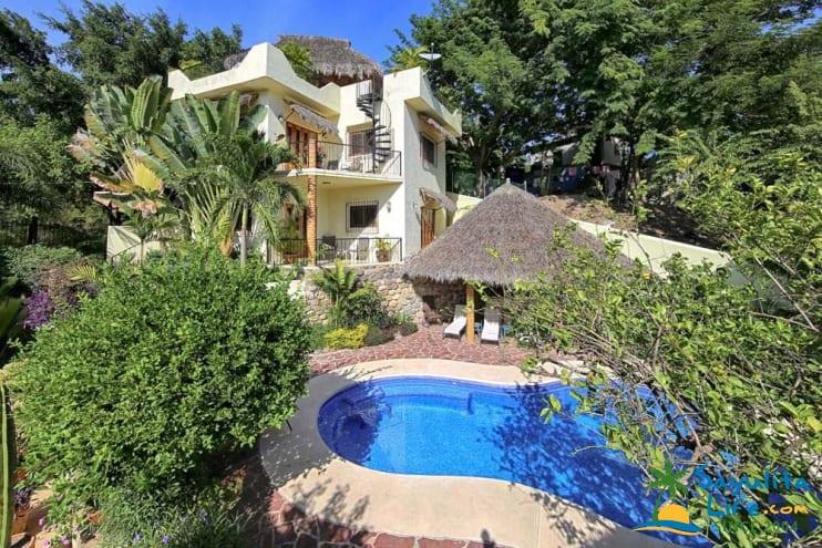 Upper Casita At Casa Amarilla Vacation Rental in Sayulita Mexico