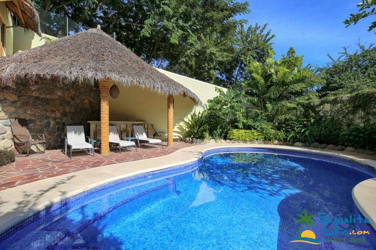 Casita Amarilla Main House Vacation Rental in Sayulita Mexico