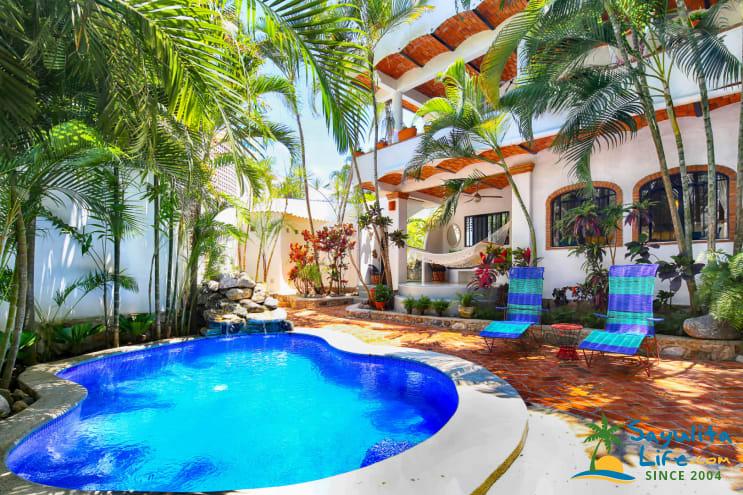 Villa Isabella Vacation Rental in Sayulita Mexico