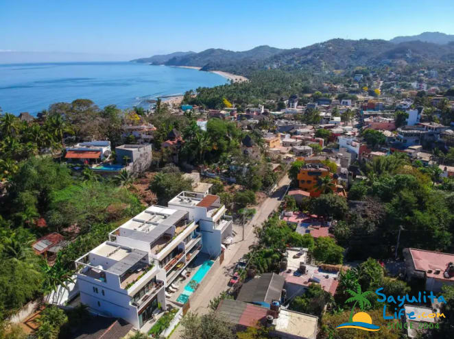 Casa Celeste Vacation Rental in Sayulita Mexico
