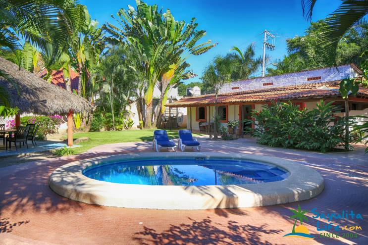 Casa Palmario Vacation Rental in Sayulita Mexico