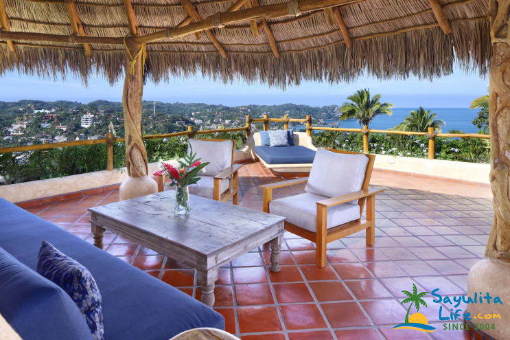 Casa Cielo Grande Vacation Rental in Sayulita Mexico
