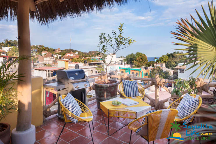 Achara Penthouse Vacation Rental in Sayulita Mexico