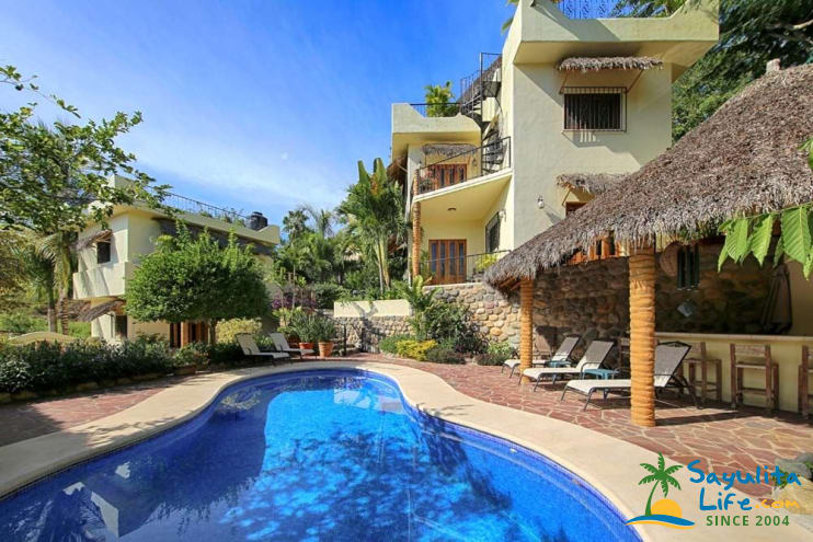 Lower Casita At Casa Amarilla Vacation Rental in Sayulita Mexico