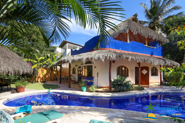 Casa Rio Vacation Rental in Sayulita Mexico