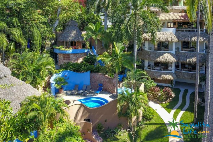 Villas Palmas Reales Vacation Rental in Sayulita Mexico
