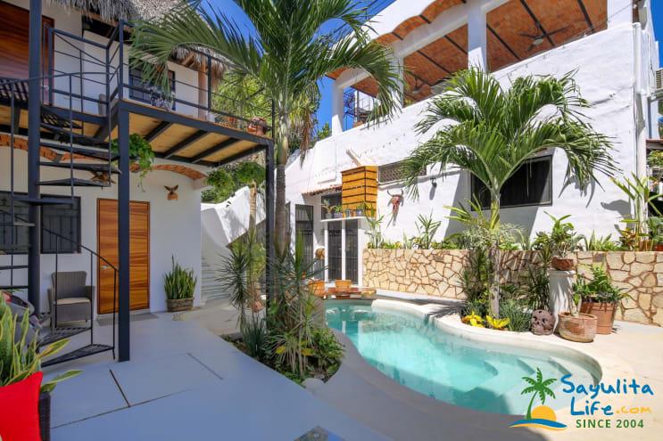 La Palapa At Casa Buena Onda Vacation Rental in Sayulita Mexico