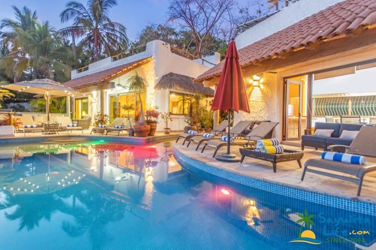 Villa Kiwi Vacation Rental in Sayulita Mexico