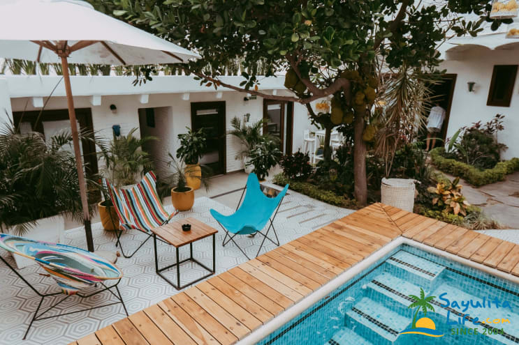 Amaia Secret Garden Vacation Rental in Sayulita Mexico