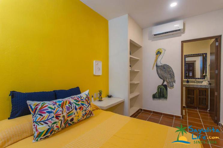 Pelican Suite At Casa Vive Tu Vida Vacation Rental in Sayulita Mexico