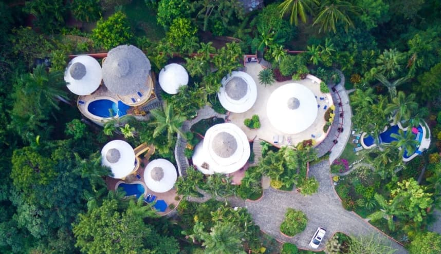 Casa Pajaro + Mikayla At Villas Rana Verde Vacation Rental in Sayulita Mexico