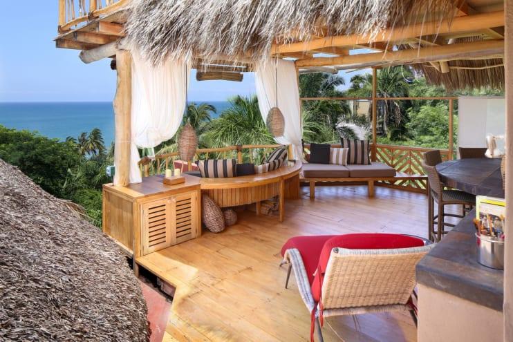 Villa Calabaza Vacation Rental in Sayulita Mexico