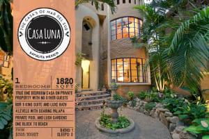 Casa Luna Vacation Rental in Sayulita Mexico