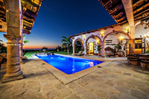 Hacienda Antigua 6BR Vacation Rental in Sayulita Mexico