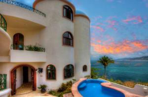 Casas Hafiz & Lorca At Villa Poema De Amor Vacation Rental in Sayulita Mexico