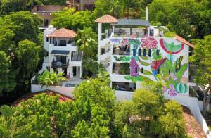 Casa Cielo (Penthouse) At Casa Vecino Guesthouse Vacation Rental in Sayulita Mexico