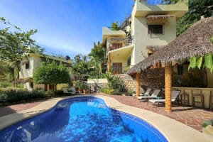 Lower Casita At Casa Amarilla Vacation Rental in Sayulita Mexico