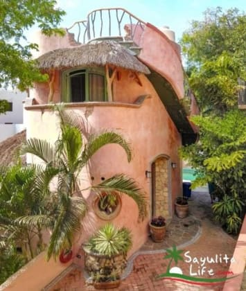 Casita Cocoon Vacation Rental in Sayulita Mexico