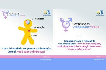 Mensagens I - Campanha Visibilidade Trans