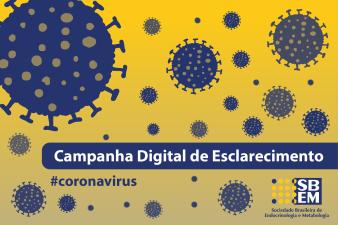 Campanha Digital sobre o Novo Coronavírus