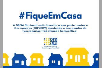 SBEM na campanha #fiqueemcasa
