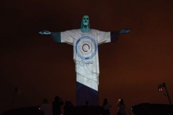 Cristo Redentor e o Mês do Diabetes