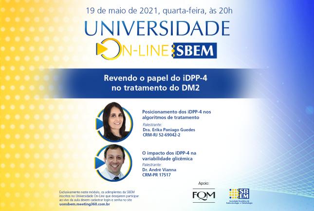 Universidade Online SBEM: Tratamento do DM2